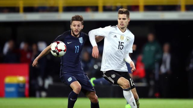 Adam Lallana Tactical switch worked well in Germany despite defeat