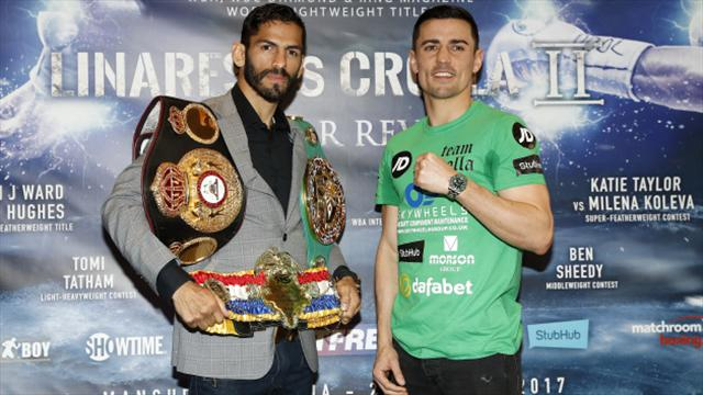 Eddie Hearn demands huge payday for Anthony Crolla to fight Terry Flanagan