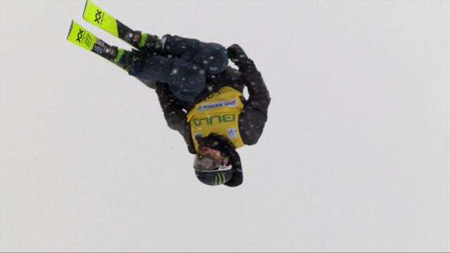 Emma Dahlstrom stars at Myrkdalen Big Air