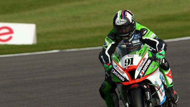 Haslam on pole after Donington qualifying cancelled