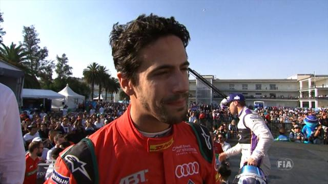Di Grassi joyous after 'lucky' victory in Mexico City