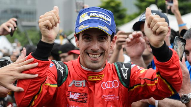 Di Grassi executes improbable strategy to win