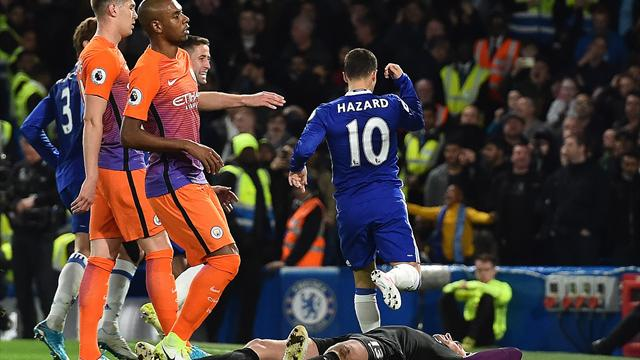 Eden Hazard Chelsea are'nearly there in Premier League title race