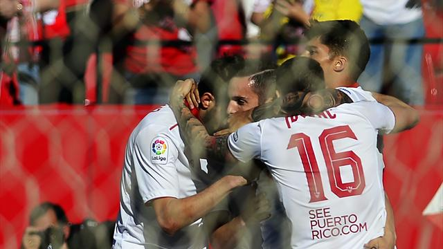 Sevilla back to winning ways with 4-2 win over Deportivo
