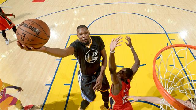 Touché au mollet, Durant incertain contre Portland