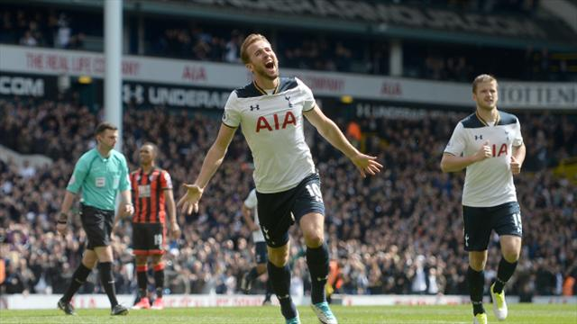 Improved Spurs keep up chase for EPL title