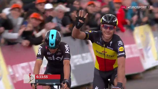 Philippe Gilbert vince l'Amstel Gold Race per la 4^ volta in carriera