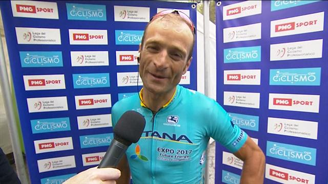 I think I'll be very well prepared for the Giro d'Italia, says winner Scarponi