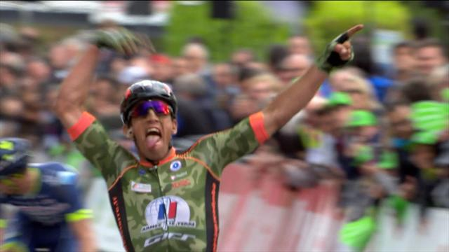 Gaudin seals victory in the Tro-Bro Léon, out-sprinting Backaert