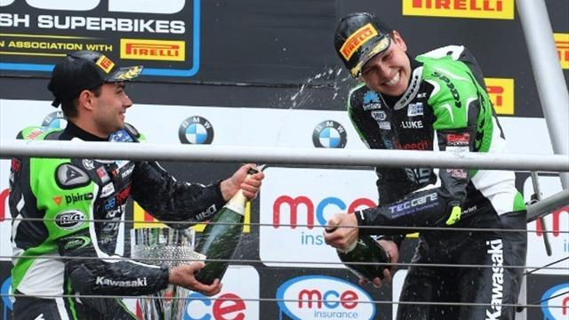 Mossey clinches dream double at Brands Hatch Indy