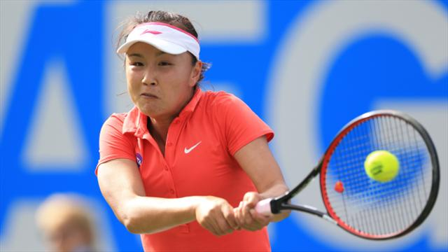 Peng Shuai reaches last eight in Zhengzhou