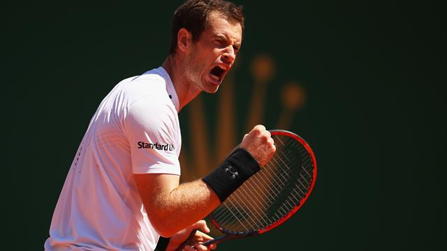Andy Murray returns with win in Monte Carlo