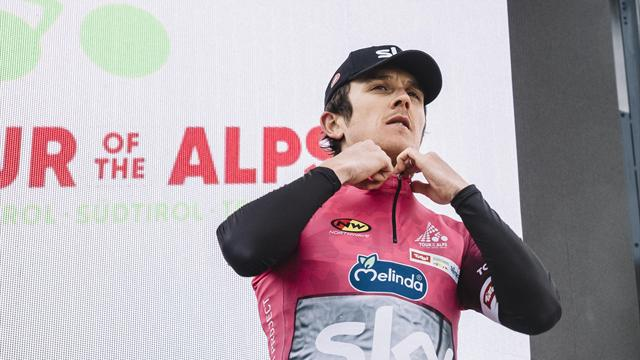 Thomas takes Tour of the Alps queen stage, overall lead