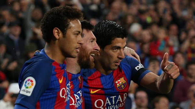 MSN start for Barcelona, Dybala fit to play for Juventus