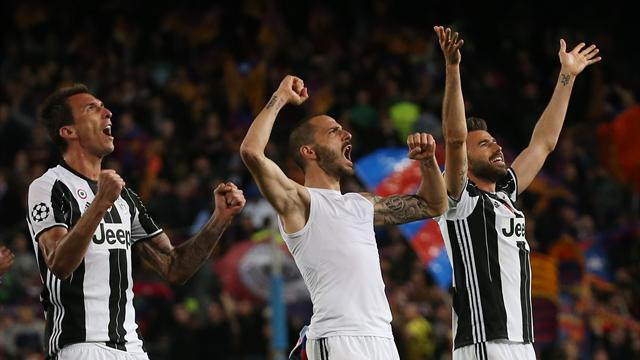Juventus defensive masterclass dumps out Barcelona