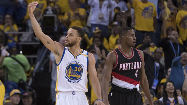 Playoff Nba: Warriors al secondo turno