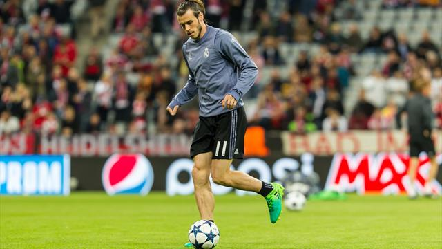 Bale back in training with Madrid ahead of Clasico