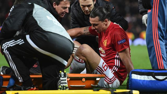 Ibrahimovic to miss rest of season with serious knee injury - reports