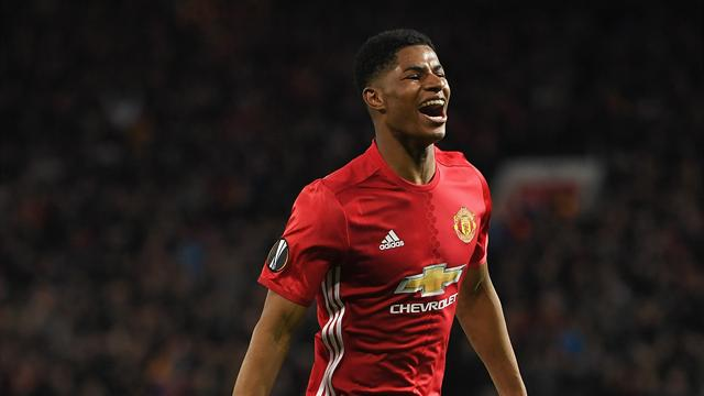 Rashford fires United into Europa League semi-finals
