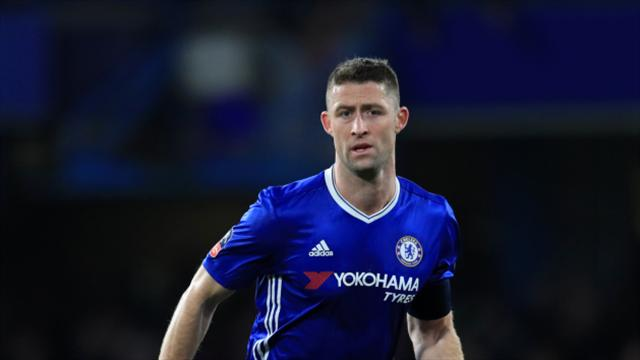 Chelsea defender Gary Cahill a doubt for FA Cup semi-final - reports