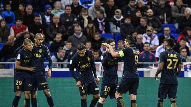 Monaco back on top of Ligue 1 after win against Lyon