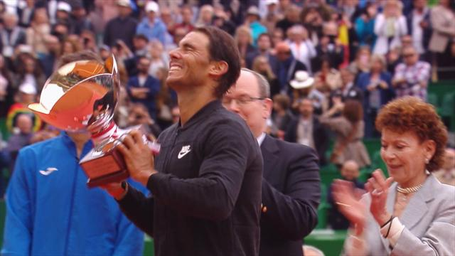 ROLEX MINUTE: Highlights as Nadal makes history in Monte Carlo