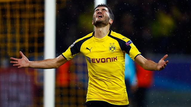 Dortmund midfielder Sahin signs deal extension to 2019