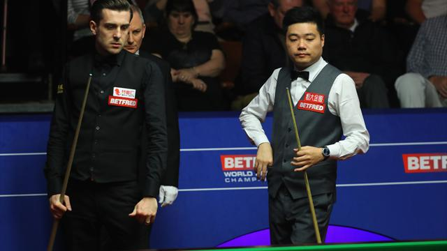 Selby and Ding in titanic battle