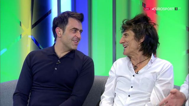 'It was a bit good!' Ronnie Wood talks Ronnie O'Sullivan's record 147