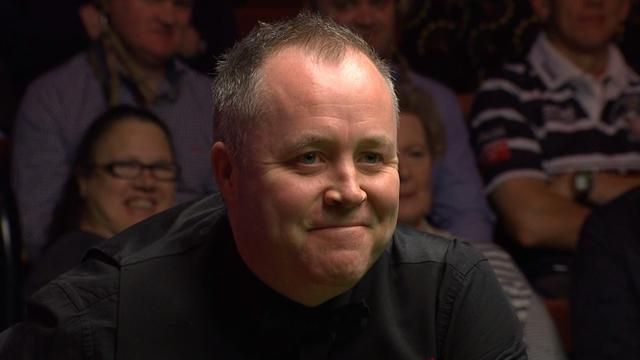 'Unbelievable!' - Higgins takes FOUR attempts to get out of snooker
