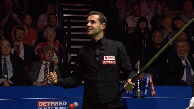 Watch the moment Selby clinches his third world title at The Crucible