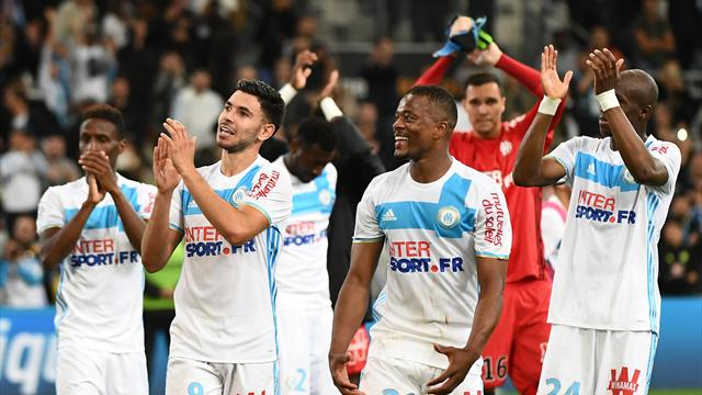 Nice's hopes of ending second wrecked at Marseille
