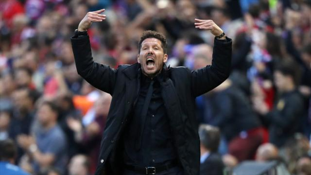"Inter gelata, Simeone categorico sul suo futuro: ""Resto all'Atletico"""