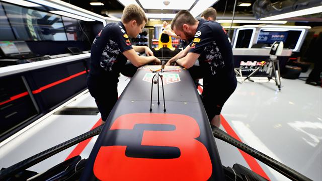 New bargeboards hint at Red Bull's upgrade