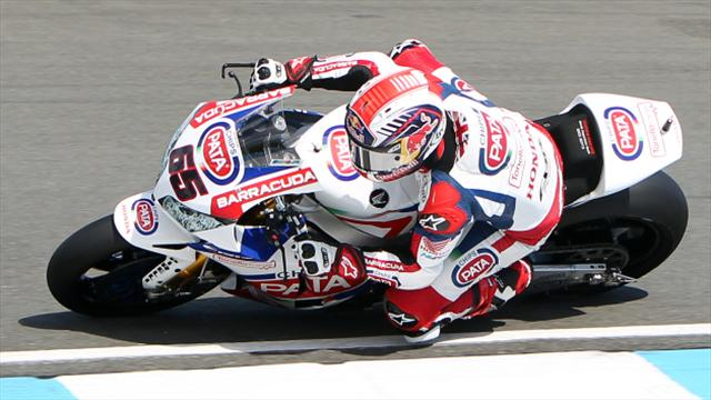 Davies secures pole in Italy