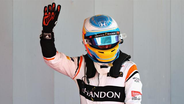 Alonso in seventh heaven with slow-moving McLaren