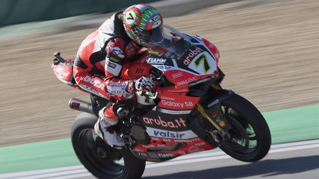 Davies clinches second win of weekend at Imola