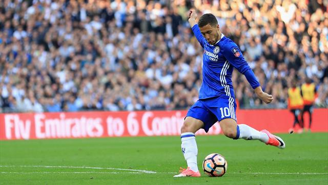 Eden Hazard eyes Wembley springboard to another Chelsea glory season