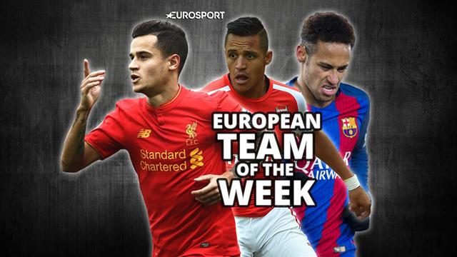 European Team of the Week: Jagielka joins Neymar in XI