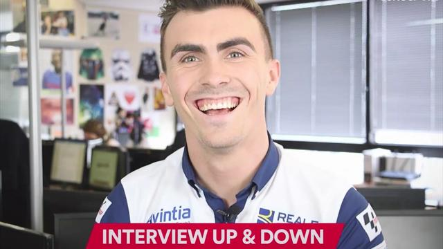 "Jul, combinaison orange, Motegi 2015 : l'interview ""Up and down"" de Loris Baz"
