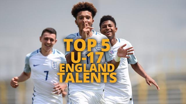 Top 5 England talents from the UEFA Under-17 Championship