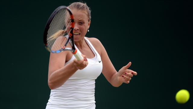 Anett Kontaveit marches on in Rome