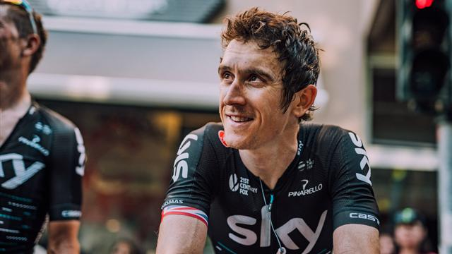 Geraint Thomas withdraws from the Giro due to injuries