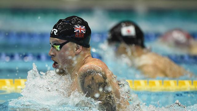 Peaty hits gold as Britain start strong in Japan Open