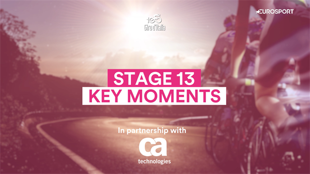 Giro d'Italia Stage 13: Key Moments