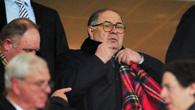 Alisher Usmanov launches £1billion bid to buy Arsenal