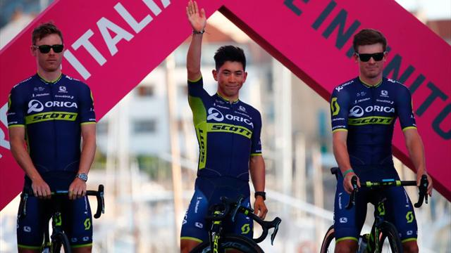 Ewan cracks top 10 in last true sprint stage of Giro