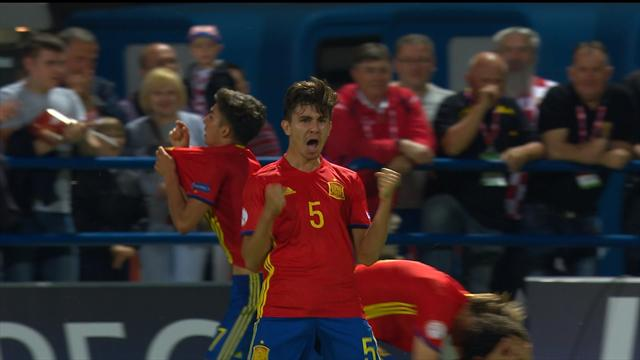 Spain snatch equaliser with last touch