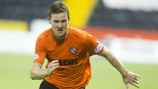 Paul Dixon's late winner gets Dundee United past Falkirk and into play-off final