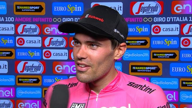 Tom Dumoulin: It is a big advantage but we'll see if it's enough